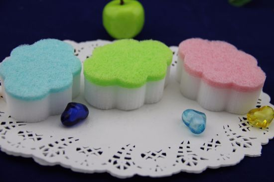 Melamine Foam Sponge/Cloud Shape Sponge pictures & photos