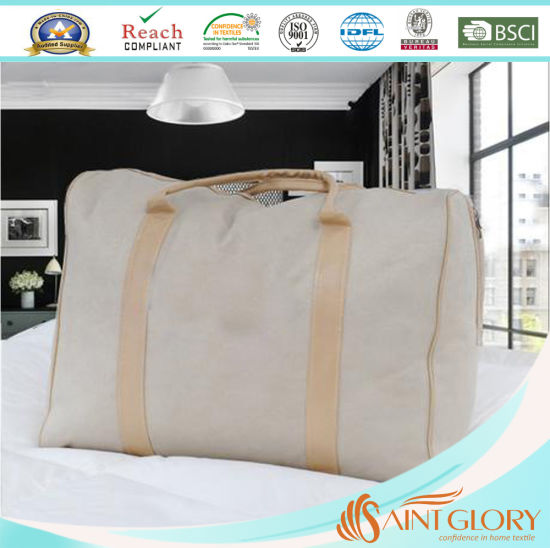 Hot Selling Eco-Friendly Duck Feather Filling Mattress Topper pictures & photos