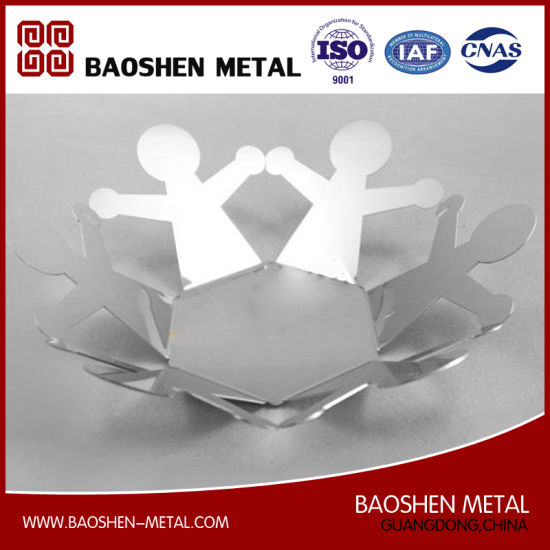 Exquisitely Made Stainless Steel Metal Dish Decoration Customized Directly From China Supplier pictures & photos