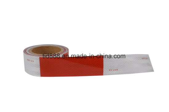 """2/""""x150FT DOT-C2 White Reflective Conspicuity Tape Roll Truck Trailer Safety Tape"""