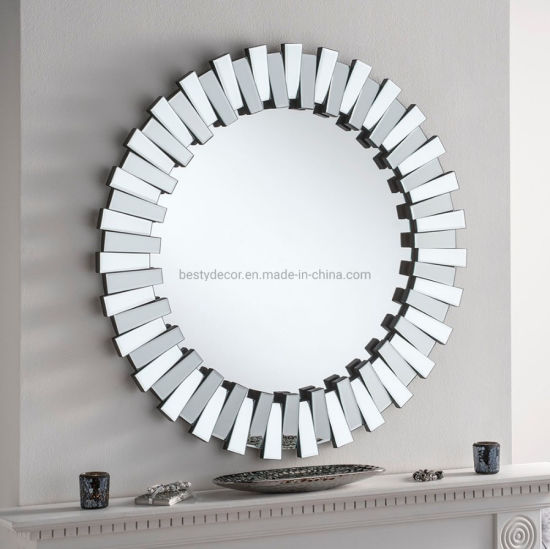Home Decor 3d Glass Bevel Wall Round Mirrors China Mirror Wall Mirrors Made In China Com
