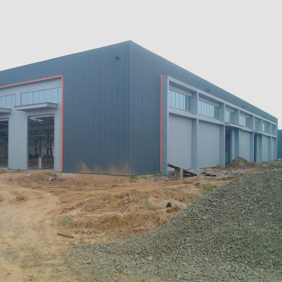 Prefabicated Steel Structure Frame Warehouse Design