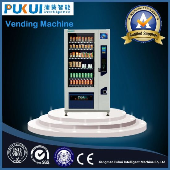 Hot Selling Self-Service Custom Automatic Food Vending Companies pictures & photos