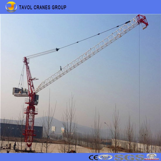Qtd4015 6ton Luffing Jib Tower Cranes Heavy Equipment Construction pictures & photos