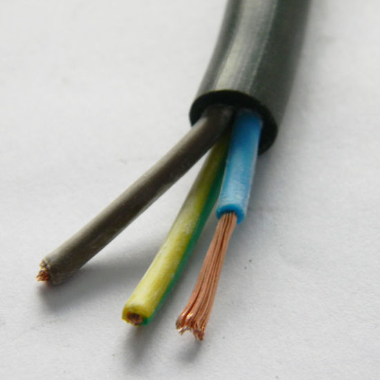 Flexible Solid Stranded Copper Aluminium PVC Insulated Electric Wire