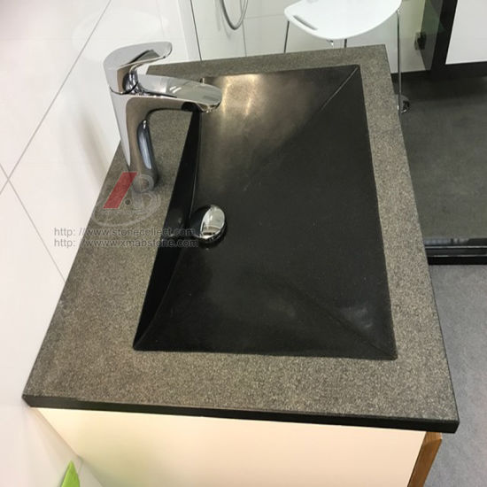 Black Granite Basin/Sink in Polished&Honed&Brushed Surface pictures & photos
