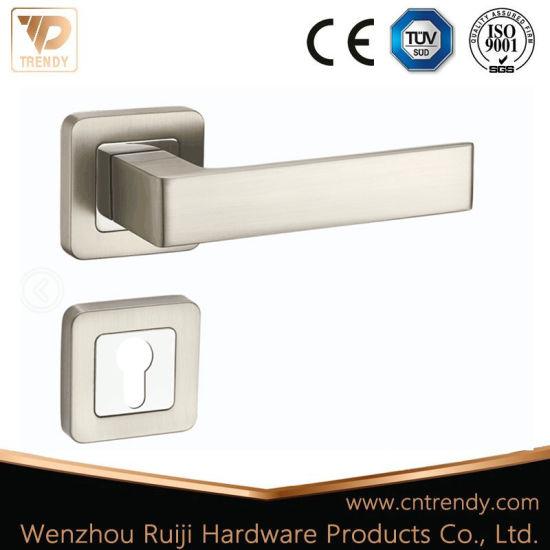 China Aluminum Interior Door Handles Door Lever Lock Set China