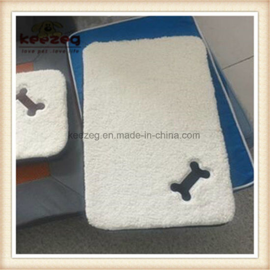 New Style Washable 3D /Quality Oxford/Sherpa Pet Bed/Pet Mat/Dog Pad (KA00113) pictures & photos