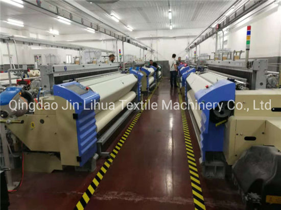 China Cloth Making Textile Weaving Machine Air Jet Loom