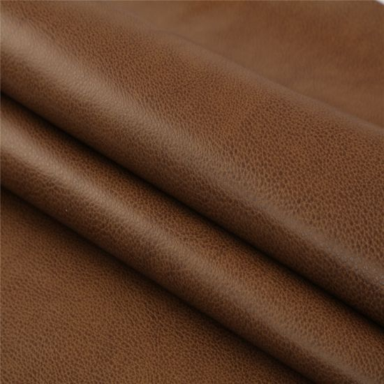 Excellent Durable Vegan Artificial Synthetic Faux PU PVC Leather for Sofa/Furniture/Car Seat/Bag/Shoes / Garment -Accelerate