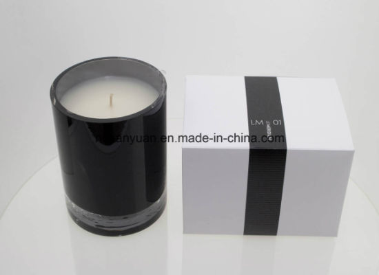 Natural Glass Jar Fragrant Soy Wax Candle pictures & photos