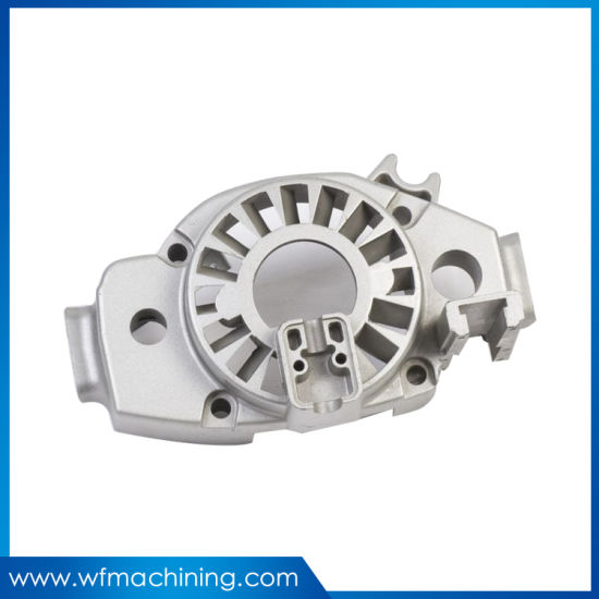 OEM ADC12/A380 Anodized Aluminum Die Casting Engine Housing/Casing/Block for Auto Industries