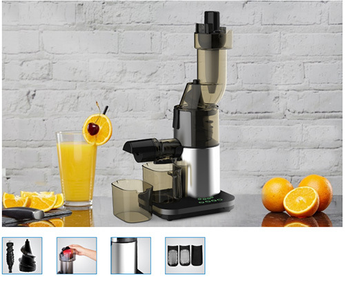 Juicer 200W Fruits Vegeable Whole Slow Juicer Extractor