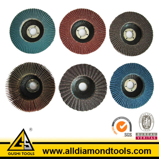 Aluminum Oxide Flap Disc for Metal (HFPD) pictures & photos