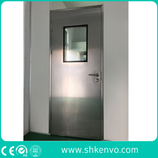 GMP Complying Clean Room Metal Flush Swing Doors for Food or Pharmaceutical Industries  sc 1 st  Shanghai Kenvo Door Co. Ltd. & China GMP Complying Clean Room Metal Flush Swing Doors for Food or ...
