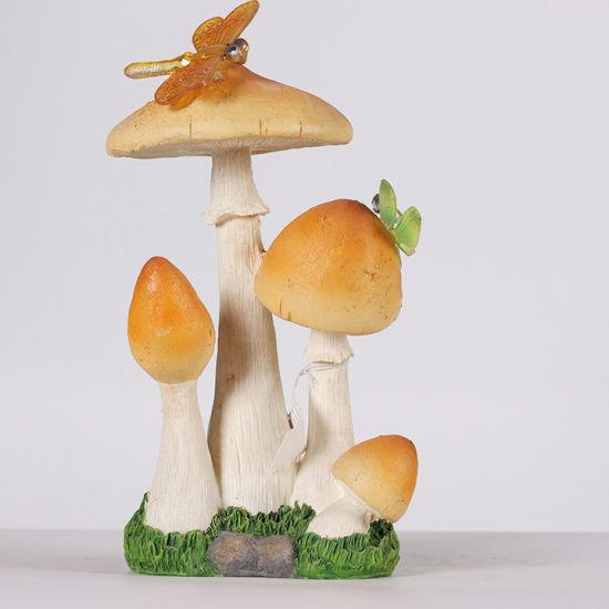 Mini Floral Fairy Girl Wings Resin Figure Desk Decoration Fairy Garden & Home Decor