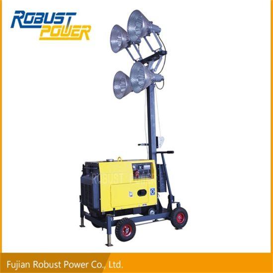 China Portable Flood Lighting Tower