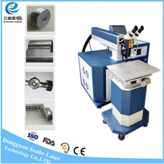 300W Automatic Gold Battery Diode Laser Spot Welding Machine for Mould pictures & photos