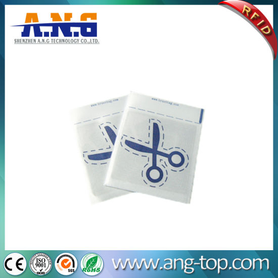 China Woven High Frequency Passive RFID Tags for Clothing