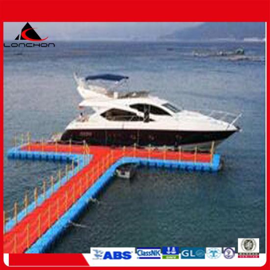 China Supply Good Quality HDPE Pontoon Floating Platform
