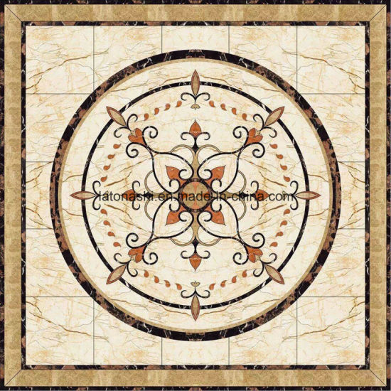 medallion product detail marble tile floor foyer design round buy stone circle
