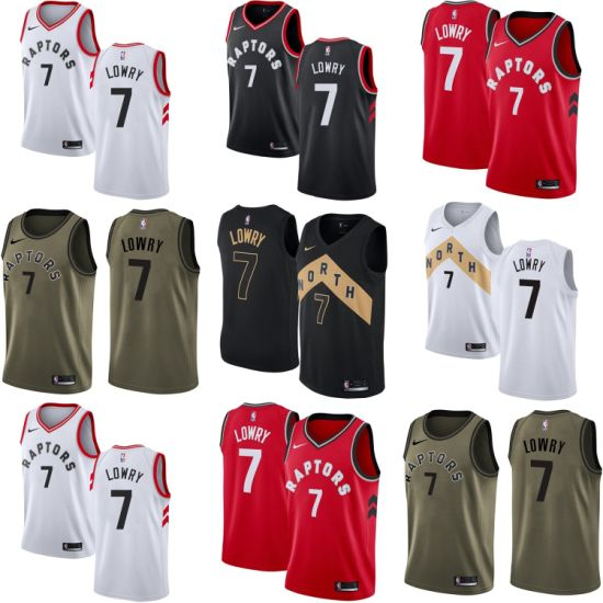 reputable site 78670 1793a China Toronto Raptors 7 Kyle Lowry Home Away Third ...