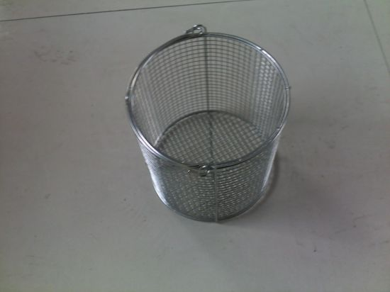 Wholesale Cheap OEM Service Multi Purpose Mesh Container Utility Wire Storage Basket pictures & photos