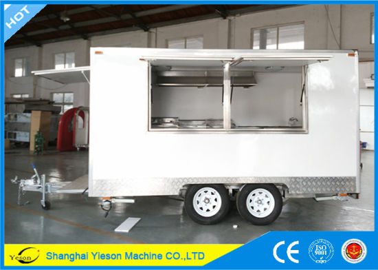 Ys Fb390a Top Selling Mobile Kitchen Car Food Truck For Sale