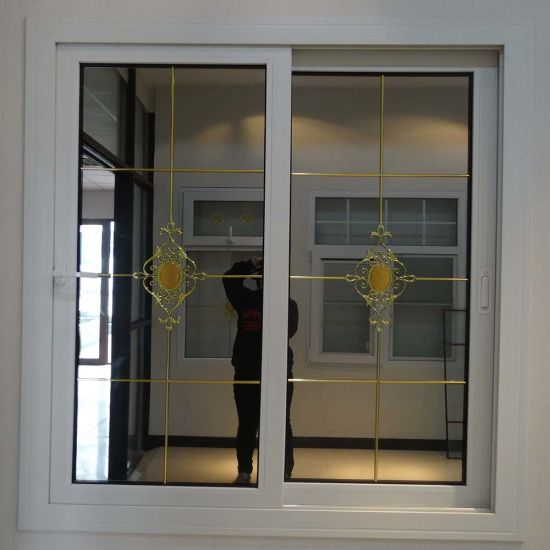 Modern China Plastic Steel Reinforced Tinted Glass Door And Window