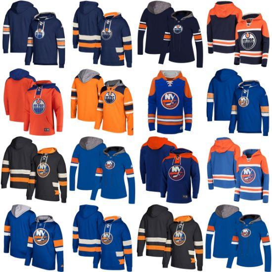 Wholesale 2019 Edmonton Oilers New York Islanders Sweaters Pullovers Hoodies