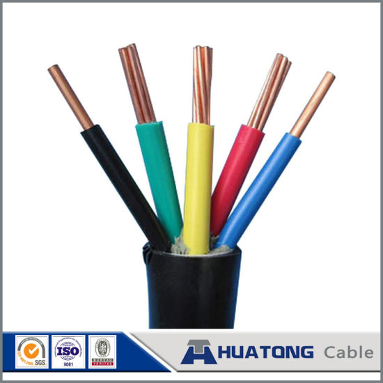 450v / 750v pvc insulated wire green yellow ground wire electrical wiring  in home pictures &