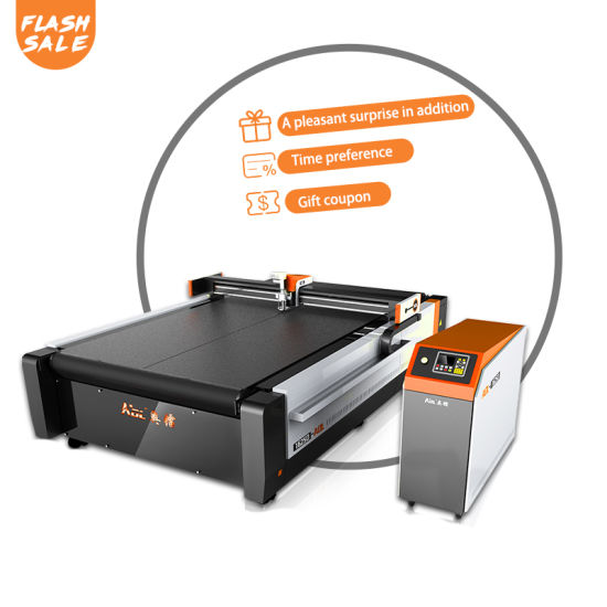 CNC Digital Box Cutter Making Machine for Honeycomb, Corrugated Grey Board, Carton, Cardboard Sample Cutting Flatbed Plotter