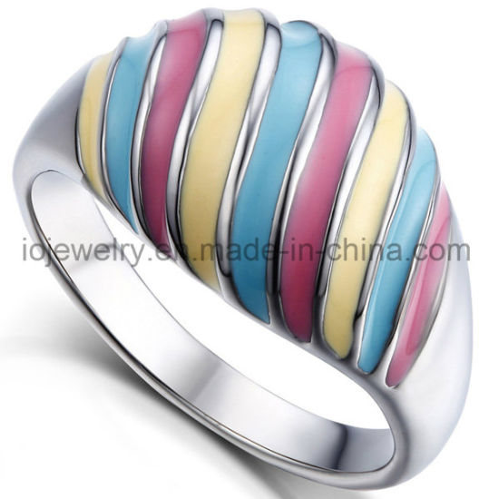 316 Stainless Steel Fashion Jewelry Metal Rings