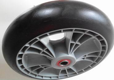 Black PU Foamed Wheelbarrow Tyres