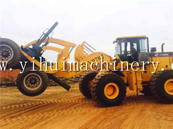Popular in Garbon Congo Forestry Wy978j 12ton Log Loader pictures & photos