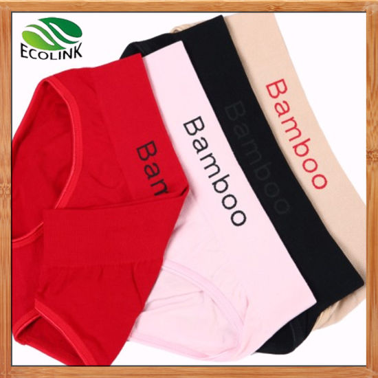 High Quality Pants Bamboo Fibre Briefs for Ladies pictures & photos
