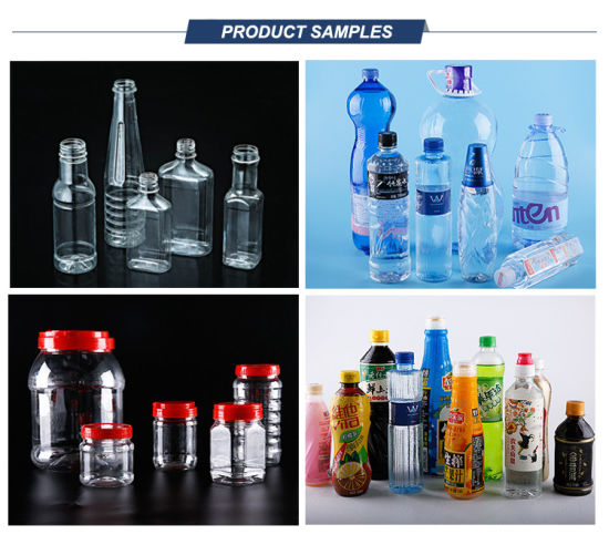 2 Cavity Semi-Auto Plastic Water Bottle Making Machine pictures & photos