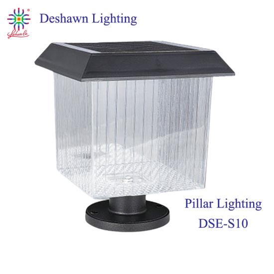 Square Cover Pillar Lighting Solar Lighting LED Outdoor Lighting Solar Pillar Light