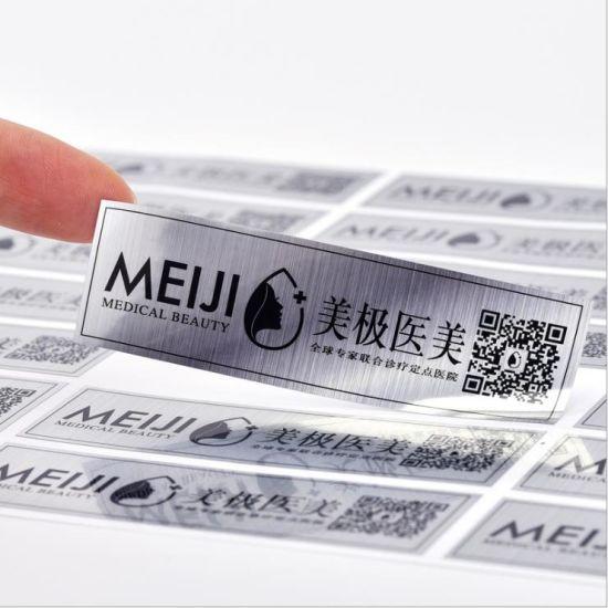 Custom Waterproof BOPP 4 Color Printed Lighter Adhesive Label Sticker Printing