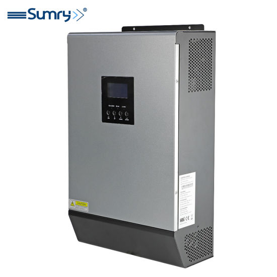 3000W Pure Sine Wave Single Phase High Frequency LCD Inverter 24V 220V 50A Solar Charge Controller 32-32volt PWM
