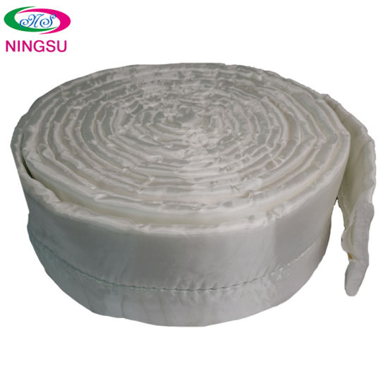 2020 High Quality Smoke Exhaust Pipe Fireproof Silver Fiber Insulation Material