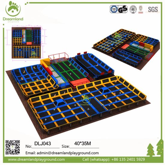 Indoor Games for Malls Indoor Trampoline for Kids pictures & photos