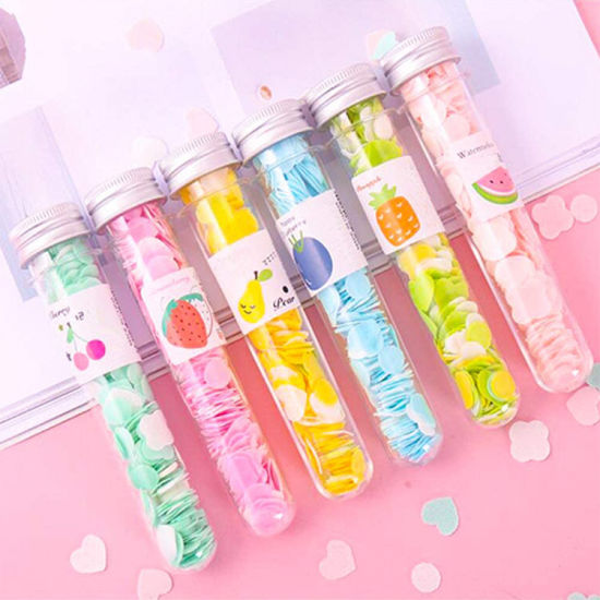 Private Label Mini Flower Paper Soap Refill Hand Wash Customized Fragrance Color Use for Travel Outdoor