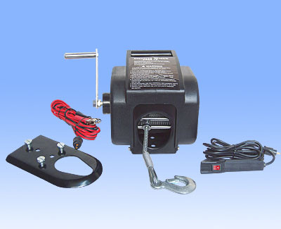 Portable Boat Winch Qualified 2000 Lbs