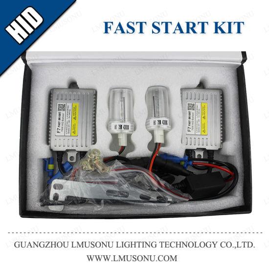 Xenon F7 Fast Bright H1 H3 H7 H11 9005 9006 HID Kits 75W