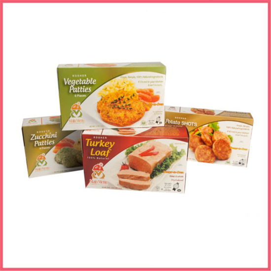 China Custom Printed Paper Frozen Food Box Packaging Manufacturer Supplier Factory