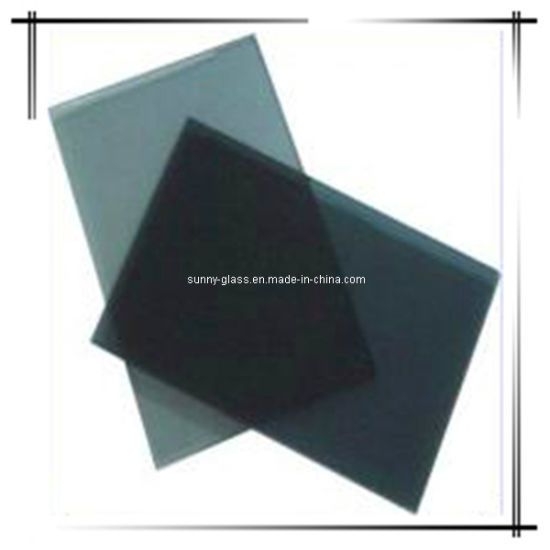 3-10mm Dark Grey Tinted Float Glass for Building Glass