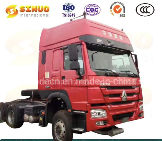 Used Sinotruk HOWO Truck 10X Wheels Second Hand Tractor Trucks 371HP 375 6X4 China China Heavy Duty Truck Trailer Head Tractor Head Truck Excellent Condition