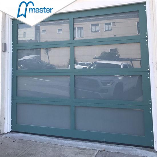 Remote Control Mirror Commercial Insulated Aluminum Garage Doors