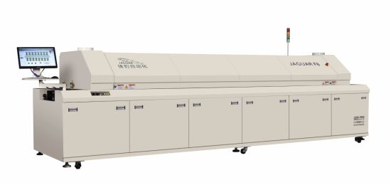 China Lead-Free Reflow Oven of Jaguar F8 - China Reflow Ovens with Eight  Heating Zones, Reflow Ovens with Siemens PLC